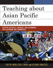 Teaching about Asian Pacific Americans book cover