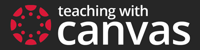 Teaching with Canvas logo.