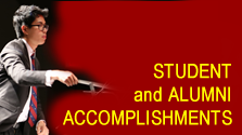 Student and alumni accomplishments link